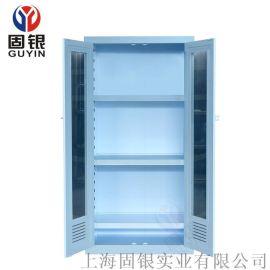 固银PP双门药品柜 PP试剂柜 强腐蚀化学品存储柜