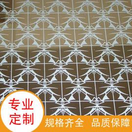 定制304不锈钢蚀刻板 镀铜拉丝不锈钢彩色腐蚀板