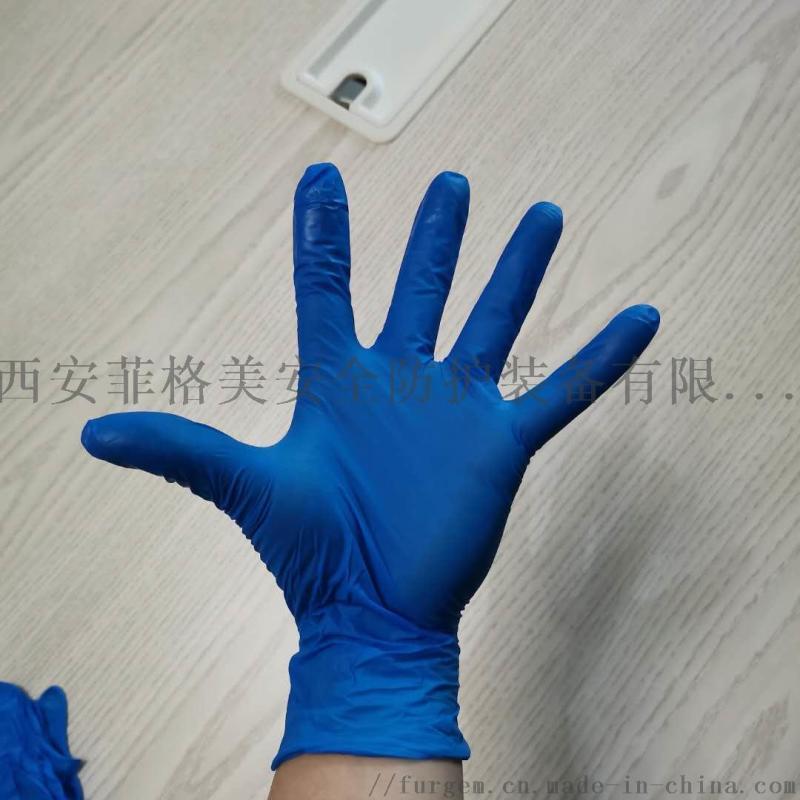 一次性非滅菌無粉白色乳膠手套大量現貨