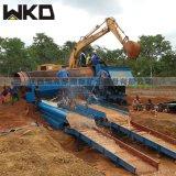 沙金選礦鼓動溜槽 金礦採金設備 1.5鼓動溜槽產量