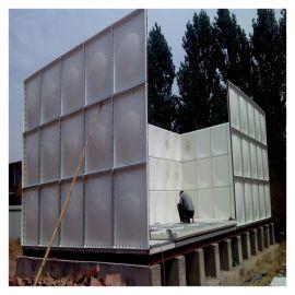 玻璃钢成品水箱 霈凯环保 组装式水箱