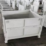 铁板箱 钢制料架 金属货架 波纹板金属料箱