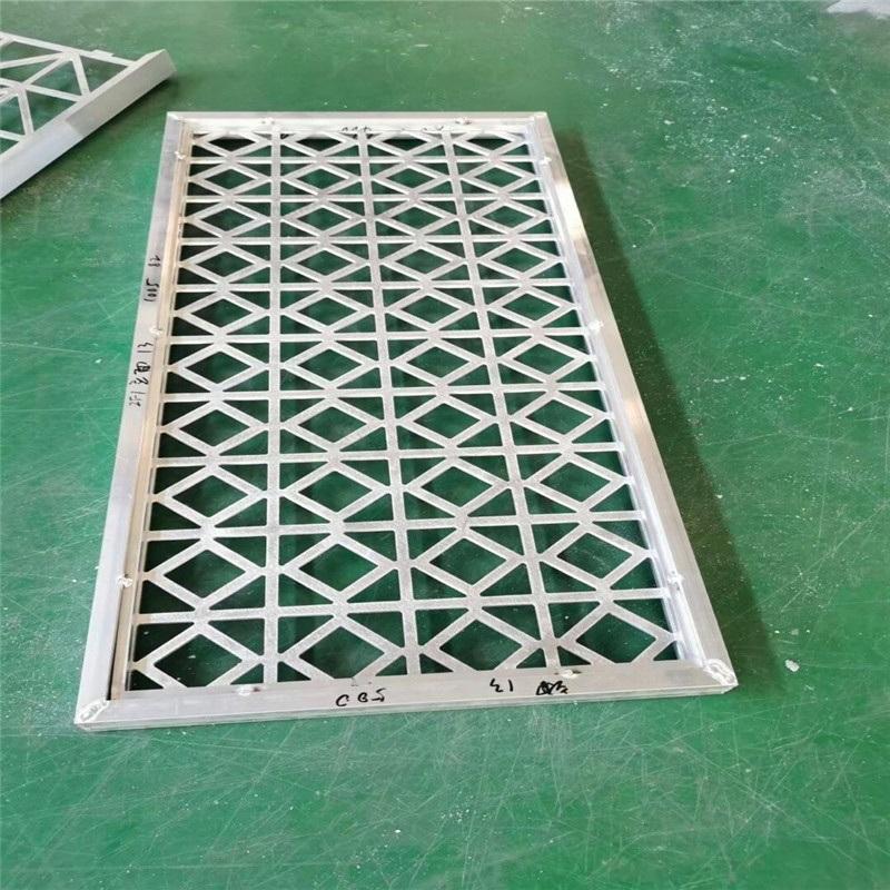 镂空雕刻铝单板外墙定制 金属外墙雕刻造型铝单板镂空