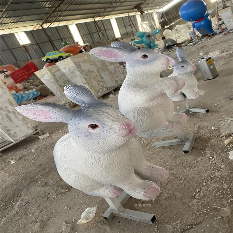 中山幼儿园小动物雕塑 七星瓢虫甲虫雕塑