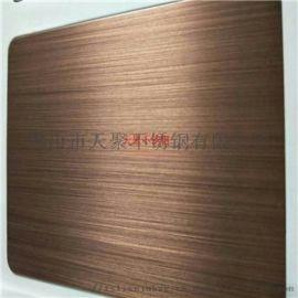 不锈钢豪华别墅门用不锈钢镀铜板青古铜乱纹板