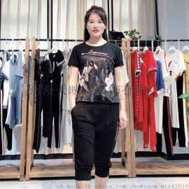 【阳光美诗】2020年新款休闲套装女春品牌折扣女装