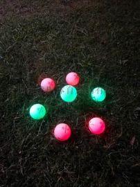 高尔夫高弹力闪光球比赛用球