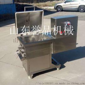 火腿肠拌馅机-全自动小型不锈钢拌馅机质保一年