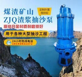 矿用潜水渣浆泵 液下立式渣浆泵 尾矿渣浆泵