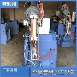 自动液压切割高速钢斜切圆锯机大功率金属切管机