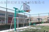 移动单臂篮球架 地理圆管篮球架 固定式单臂篮球架
