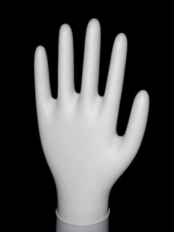 白色丁腈手套