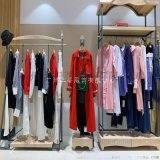 廣州品牌折扣女裝茵美娜19秋冬品牌尾單女裝