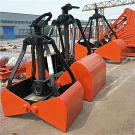 供应X30重型3立方单绳悬挂抓斗 生产厂家支持定制