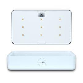 无线充手机UV灭菌消毒盒