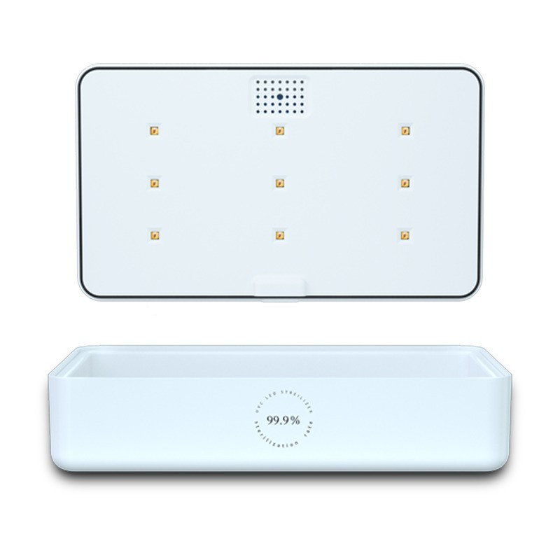 無線充手機UV滅菌消毒盒