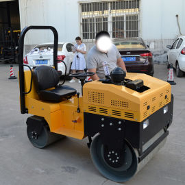 压路机 手扶式 小型手扶双轮压路机 小型压路机