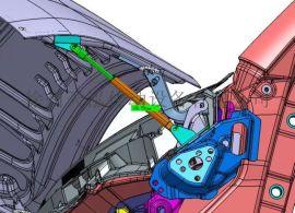 厂家直销缓冲设备支撑气压杆 可定制自锁气弹簧