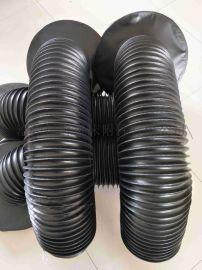 全自动码坯机圆筒防护罩|圆形伸缩式防护罩