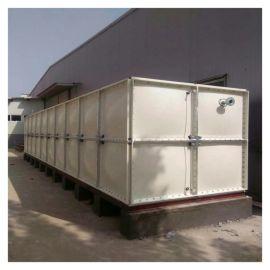 华蓥高层屋顶消防水箱 玻璃钢抗震水箱