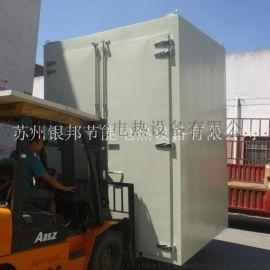 聚氨酯胶辊专用烘箱厂家 台车式聚氨酯制品烘烤箱