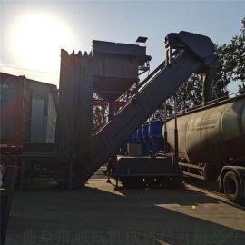 港口集装箱灰料中转设备库房倒灰装罐车机器粉料装车机