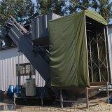 集裝箱工業石粉自動卸料輸送設備粉煤灰倒車中轉輸送機