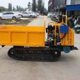 4吨履带运输车 多功能爬山虎 自卸履带运输车