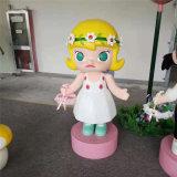 广州玻璃钢雕塑厂家定制商场美陈卡通人物雕塑