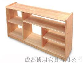 定制四川幼儿园玩具柜 四川实木儿童玩具柜厂家