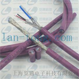 devicenet高柔性拖链电缆线CANopen