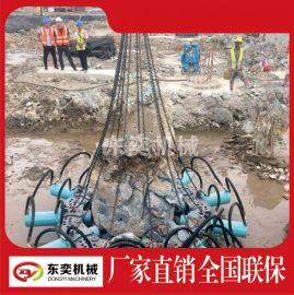 液压破桩机可破碎高铁桥梁桩 建筑桩基工程桩头破碎