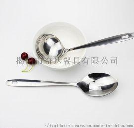 QB3008/QB3006 连柄 长饭勺 汤勺
