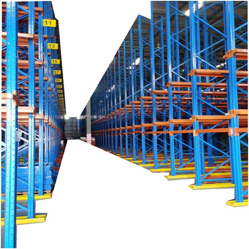 進車式倉庫卡板貨架,開進式貨架,廣東貨架專業廠