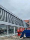 朵雲書院衝孔鋁單板 營銷前廣場廊架藝術孔造型鋁板