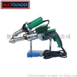 出口级别重叠焊接PVC,TPO聚合物膜挤出型焊接机
