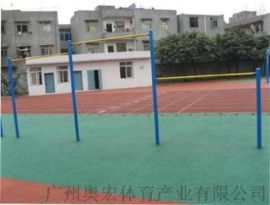 广州塑胶PVC羽毛球场建设室内羽毛球场厂家