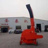 移動式高噴自動鍘草機 自動進料鍘揉機