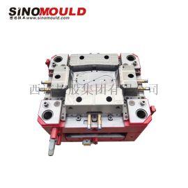 西诺塑料管件模具,排水槽接口模具,多腔管件注塑