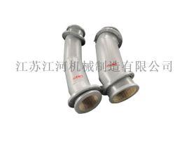 江河机械 耐磨陶瓷管道安装 常州耐磨管道