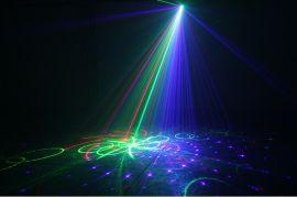 舞台灯光广州鑫橙三孔红绿蓝激光灯