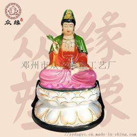 寺庙观音神像定制 鎏金   菩萨 树脂雕塑佛像