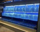 深圳山庄土建海鲜池定做安装 盐田不锈钢海鲜池定做