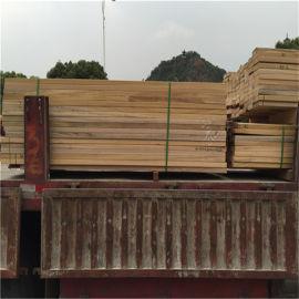 红巴劳木实木地板厂家直供,正宗红巴劳木平台踏步加工