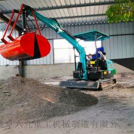 加料机 农用小型履带式液压挖掘机 六九重工 农林