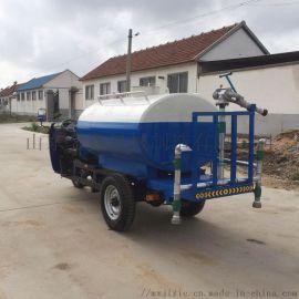 供应多功能电动洒水车 园林绿化洒水三轮车厂家