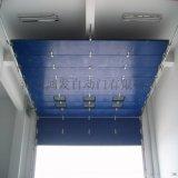 临沂工业滑升门垂直提升滑下海螺水泥车的实装案例