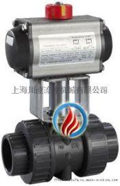 SQ611气动塑料球阀