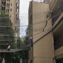 不锈钢防坠落绳网.高空防坠网