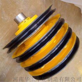 生产定制轧制滑轮组 双梁吊钩滑轮片生产滑轮组